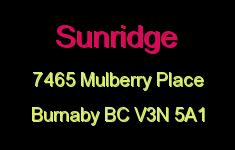 Sunridge 7465 MULBERRY V3N 5A1