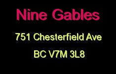 Nine Gables 751 CHESTERFIELD V7M 3L8