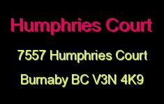 Humphries Court 7557 HUMPHRIES V3N 4K9