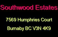 Southwood Estates 7569 HUMPHRIES V3N 4K9