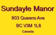 Sundayle Manor 803 QUEENS V3M 1L8
