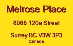 Melrose Place 8068 120A V3W 3P3