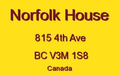 Norfolk House 815 4TH V3M 1S8
