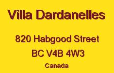 Villa Dardanelles 820 HABGOOD V4B 4W3
