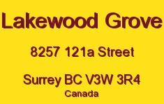 Lakewood Grove 8257 121A V3W 3R4