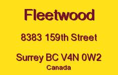 Fleetwood 8383 159TH V4N 0W2