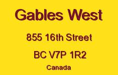 Gables West 855 16TH V7P 1R2
