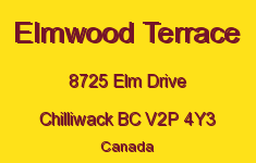 Elmwood Terrace 8725 ELM V2P 4Y3