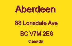Aberdeen 88 LONSDALE V7M 2E6