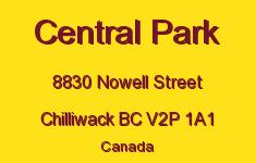 Central Park 8830 NOWELL V2P 1A1