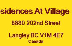The Residences At Village Square 8880 202ND V1M 4E7