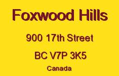 Foxwood Hills 900 17TH V7P 3K5