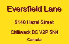 Eversfield Lane 9140 HAZEL V2P 5N4