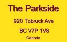 The Parkside 920 TOBRUCK V7P 1V8