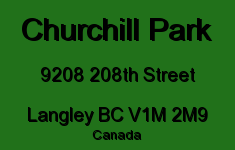 Churchill Park 9208 208TH V1M 2M9