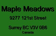 Maple Meadows 9277 121ST V3V 0B6