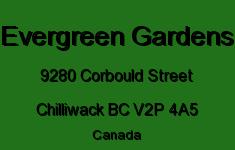 Evergreen Gardens 9280 CORBOULD V2P 4A5