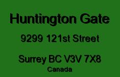 Huntington Gate 9299 121ST V3V 7X8