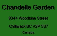 Chandelle Garden 9344 WOODBINE V2P 5S7