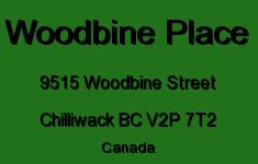 Woodbine Place 9515 WOODBINE V2P 7T2