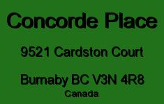 Concorde Place 9521 CARDSTON V3N 4R8