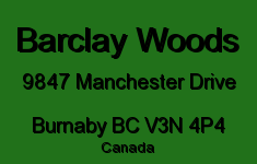 Barclay Woods 9847 MANCHESTER V3N 4P4