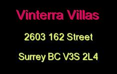 Vinterra Villas 2603 162 V3S 2L4