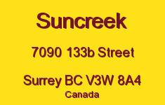Suncreek 7090 133B V3W 8A4