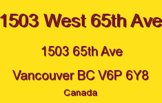 1503 West 65th Ave 1503 65TH V6P 6Y8