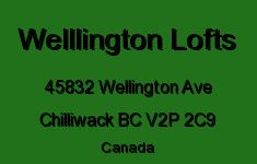 Welllington Lofts 45832 WELLINGTON V2P 2C9