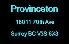 Provinceton 18011 70TH V3S 6X3