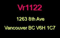 Vr1122 1263 8TH V6H 1C7