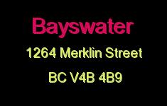 Bayswater 1264 MERKLIN V4B 4B9