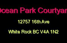 Ocean Park Courtyard 12757 16TH V4A 1N2