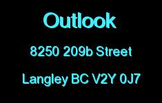 Outlook 8250 209B V2Y 0J7