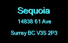 Sequoia 14838 61 V3S 2P3