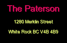 The Paterson 1280 MERKLIN V4B 4B9