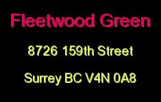 Fleetwood Green 8726 159TH V4N 0A8