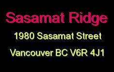 Sasamat Ridge 1980 SASAMAT V6R 4J1