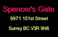 Spencer's Gate 9971 151ST V3R 9N6