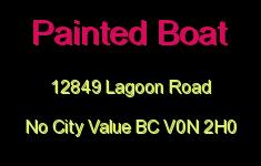 Painted Boat 12849 LAGOON V0N 2H0