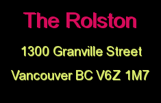 The Rolston 1300 GRANVILLE V6Z 1M7