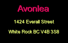 Avonlea 1424 Everall V4B 3S8