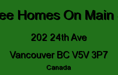 Bluetree Homes On Main Street 202 24TH V5V 3P7