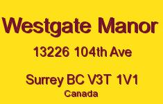 Westgate Manor 13226 104TH V3T 1V1