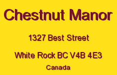 Chestnut Manor 1327 BEST V4B 4E3