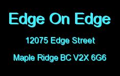 Edge On Edge 12075 EDGE V2X 6G6