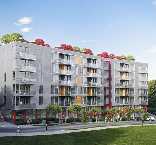 396 East 1st AVE, Vancouver, BC Building Rendering!