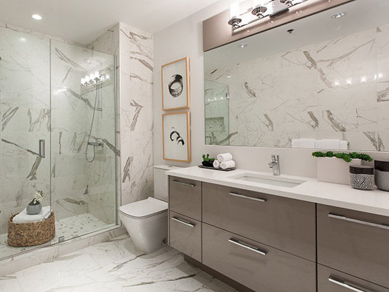 4080 Yukon Street, Vancouver, BC Bathroom Rendering!