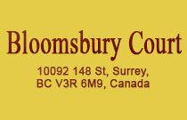 Bloomsbury Court 10092 148TH V3R 4G7